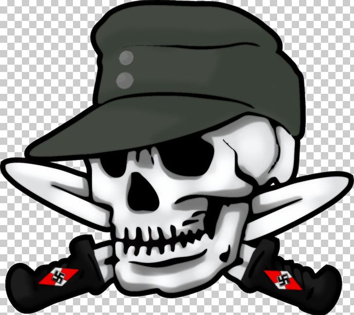 Totenkopf clipart banner black and white stock 3rd SS Panzer Division Totenkopf Waffen-SS Schutzstaffel ... banner black and white stock