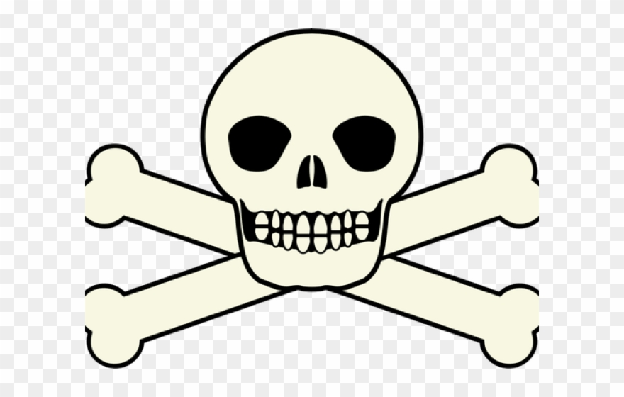 Totenkopf clipart picture royalty free library Skeleton Head Clipart Kid Friendly - Totenkopf Clipart - Png ... picture royalty free library