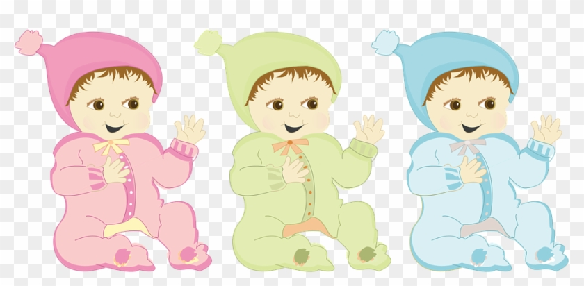 Totler e girl clipart png library Happy Baby Onesie Pink Green Blue Boy Girl Hat - Bebes Rosa ... png library