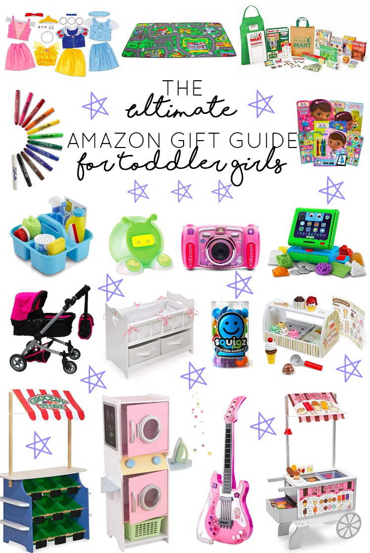 Totler e girl clipart image royalty free library The Ultimate Amazon Gift Guide for Toddler Girls - girl ... image royalty free library