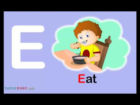 Totler e girl clipart png royalty free library Toddler Words | Words Starting With E - YouTube png royalty free library