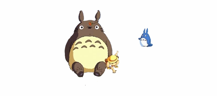 Totoro clipart free clip art transparent Mi Vecino Totoro Png - My Neighbor Totoro Free PNG Images ... clip art transparent