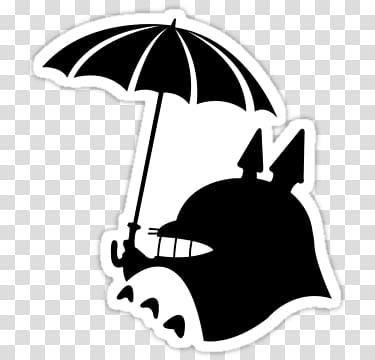 Totoro clipart silhouette banner royalty free Catbus Studio Ghibli Ghibli Museum Silhouette, Silhouette ... banner royalty free