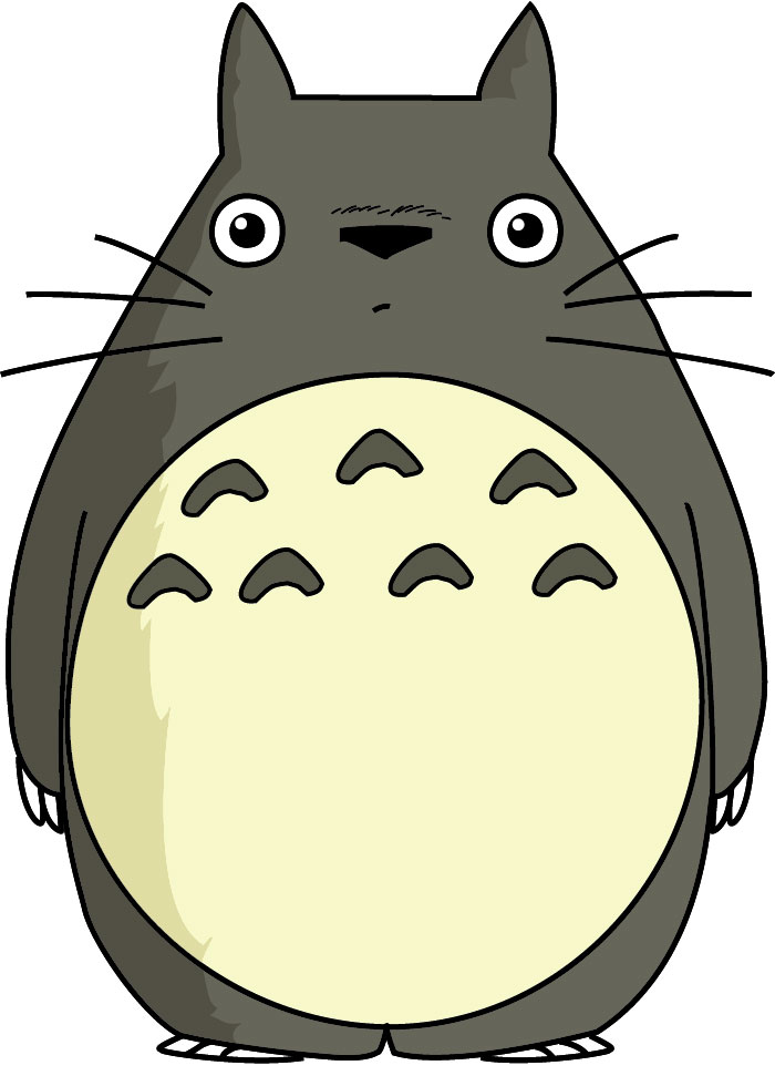 Totoro clipart silhouette clip royalty free library Free Totoro Cliparts, Download Free Clip Art, Free Clip Art ... clip royalty free library