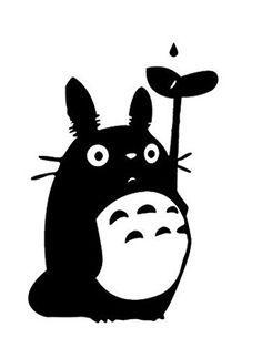 Totoro clipart silhouette clip royalty free stock Картинки по запросу totoro clipart vector | Beauty (anything ... clip royalty free stock