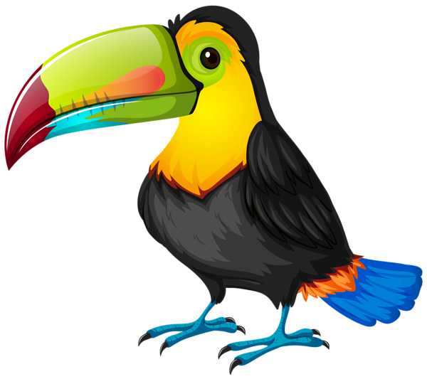 Toucan clipart thanksgiving vector transparent library Toucan clipart simple ~ Frames ~ Illustrations ~ HD images ~ Photo ... vector transparent library