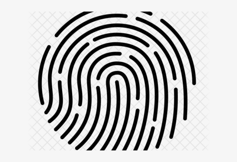 Touch id clipart vector royalty free Fingerprint Clipart Ico - Touch Id Logo Png PNG Image ... vector royalty free