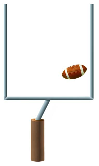 Touchdown field goal clipart svg royalty free Touchdown Clipart   Free download best Touchdown Clipart on ... svg royalty free