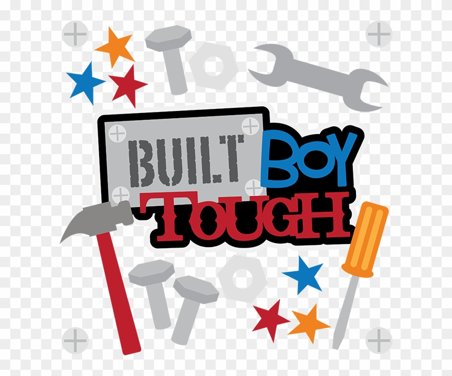 Tough boy eating lunch clipart picture freeuse library Built Boy Tough - Scrapbooking Clipart (#1297938) - PinClipart picture freeuse library
