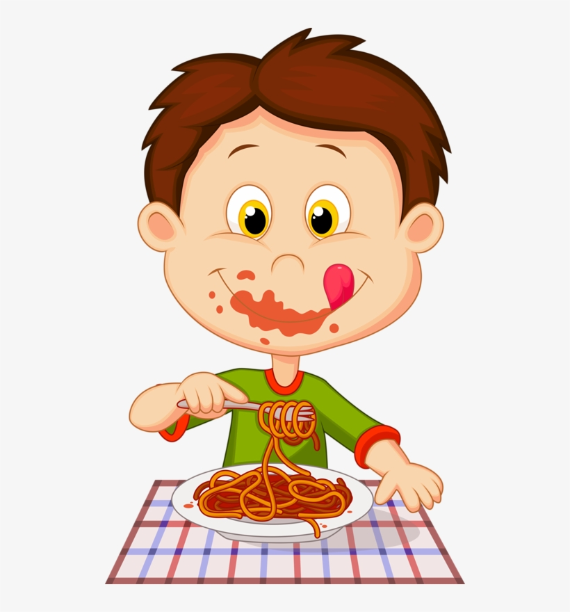 Tough boy eating lunch clipart png library stock Personnages Illustration Individu Personne - Boy Eating ... png library stock