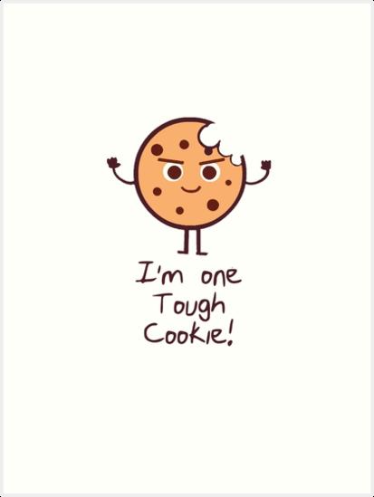 Tough cookie clipart jpg transparent download One Tough Cookie - House Cookies jpg transparent download