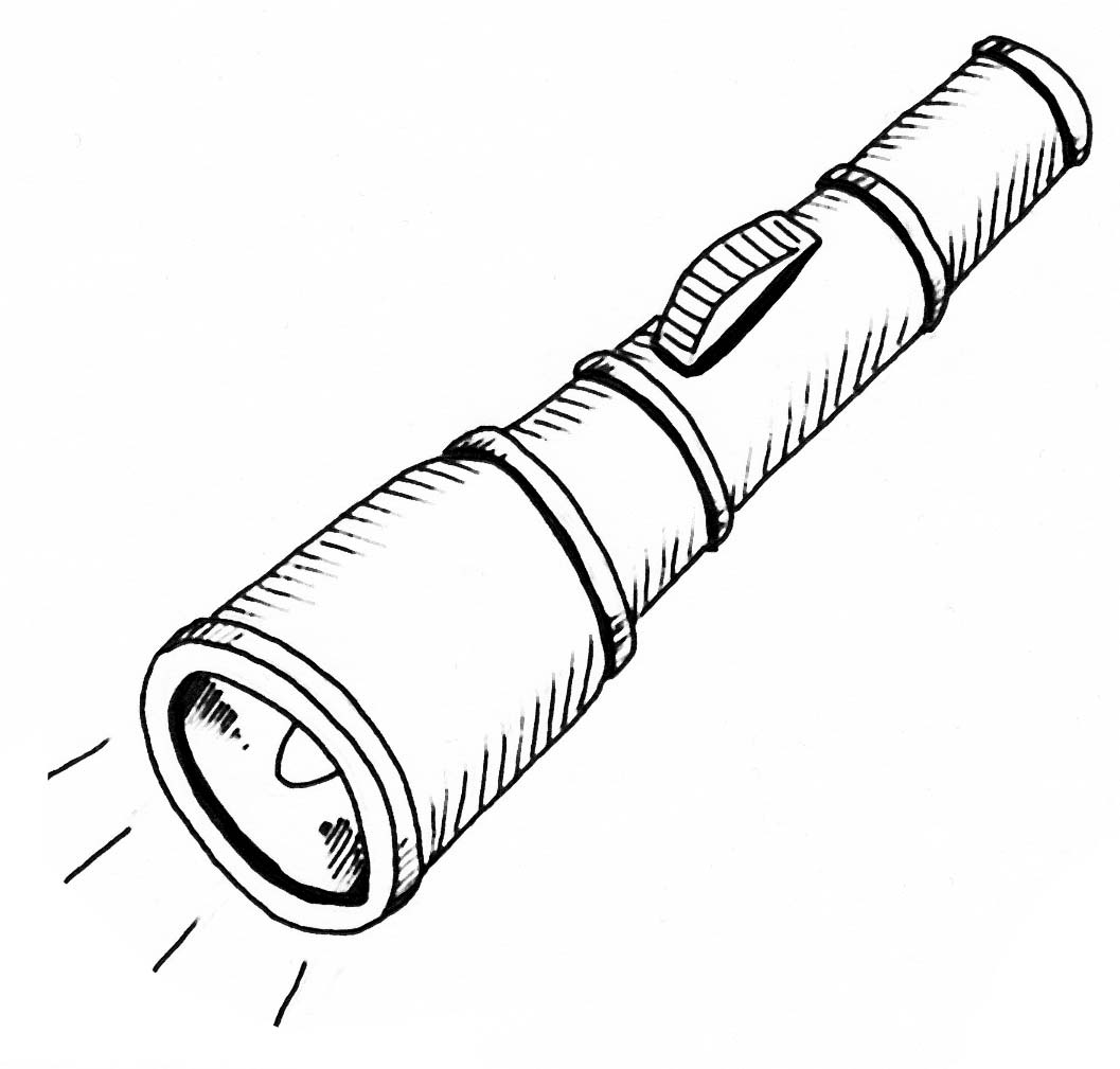 Tourch clipart black and white jpg black and white library Free Flashlight Cliparts Black, Download Free Clip Art, Free ... jpg black and white library