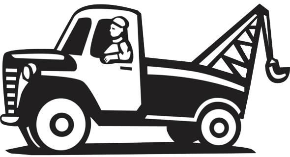 Simple truck clipart vector transparent Free Cartoon Tow Truck Pictures, Download Free Clip Art ... vector transparent