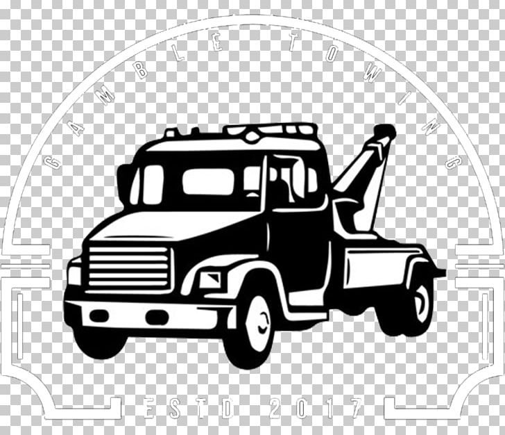 Tow truck towing car clipart black and white graphic transparent Car Tow Truck Towing PNG, Clipart, Automotive Design, Black ... graphic transparent