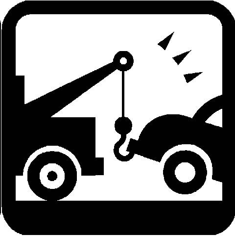 Tow truck towing car clipart black and white jpg transparent library Free Towing Cliparts, Download Free Clip Art, Free Clip Art ... jpg transparent library