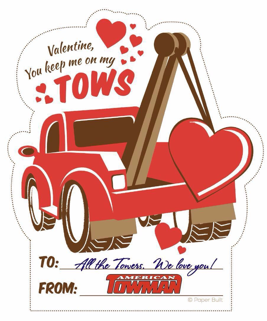 Tow truck with heart clipart image stock Pin by Stephanie Arrowood on Towing humor | Truck driver ... image stock
