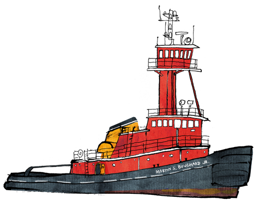 Towboat cook clipart clip art library download watercolor, drawing, boat, sketch, waterfront | Bowsprite clip art library download