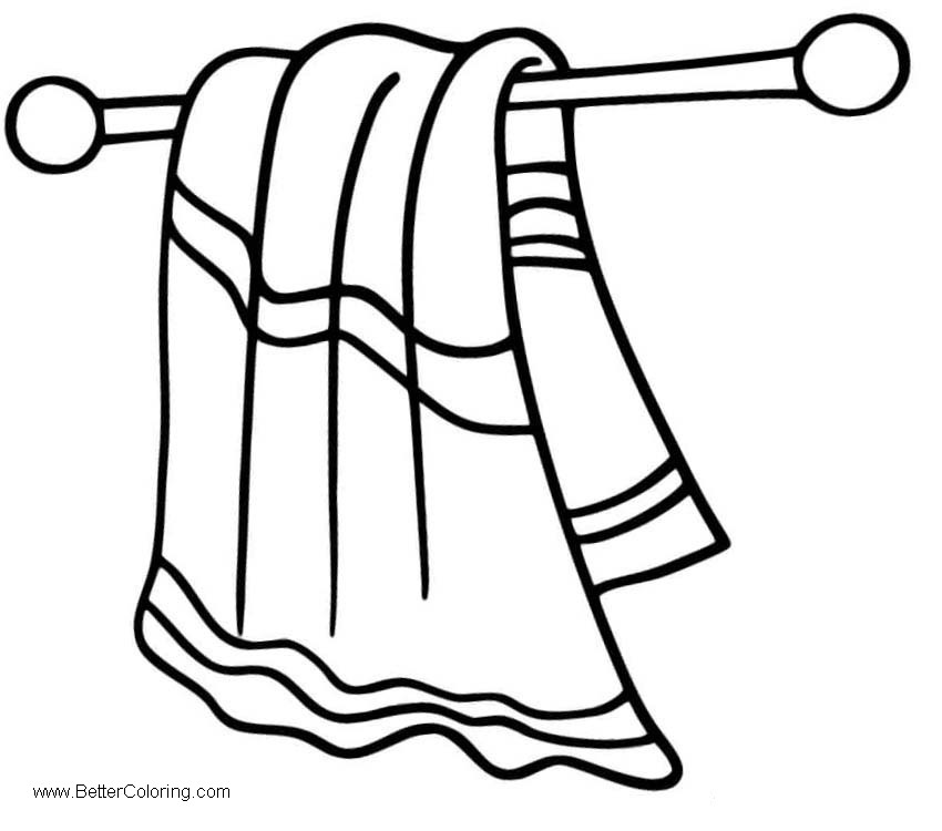 Towel black and white clipart jpg freeuse Towel Black And White Clipart - Towel Image ... jpg freeuse