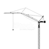 Tower crane overhead clipart png royalty free Tower Crane Side View stock vectors - Clipart.me png royalty free