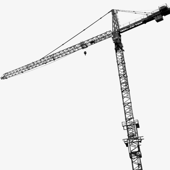 Tower crane overhead clipart transparent Tower Crane Drawing | Free download best Tower Crane Drawing ... transparent