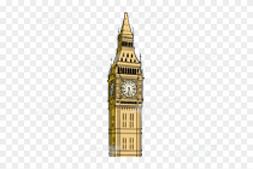 Tower of america clipart image royalty free library Big Ben Clipart Transparent - Clock Tower, HD Png Download ... image royalty free library