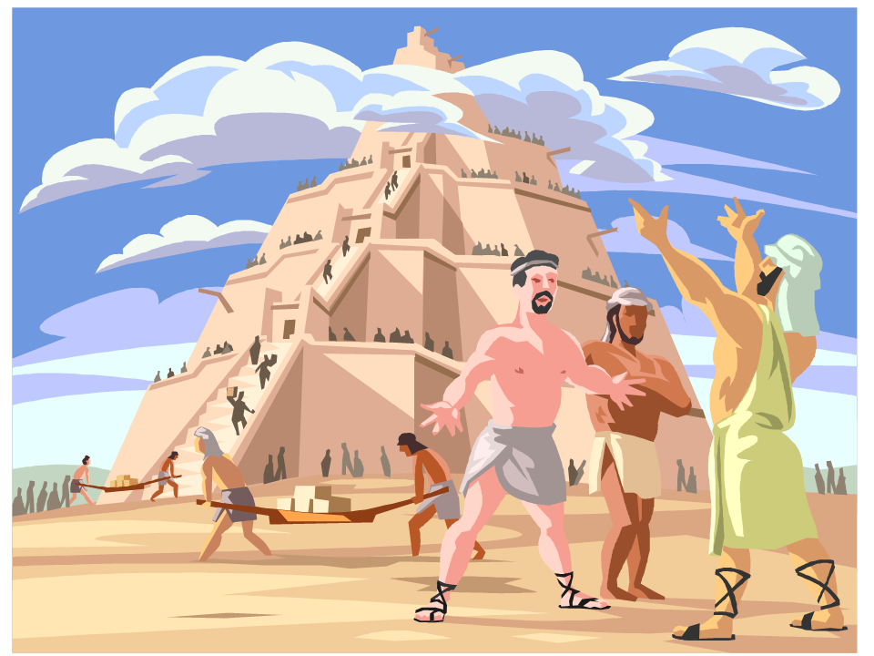Tower of babel clipart clipart download WILL THE UNITED STATES BECOME A TOWER OF BABEL? – Citizen Tom clipart download