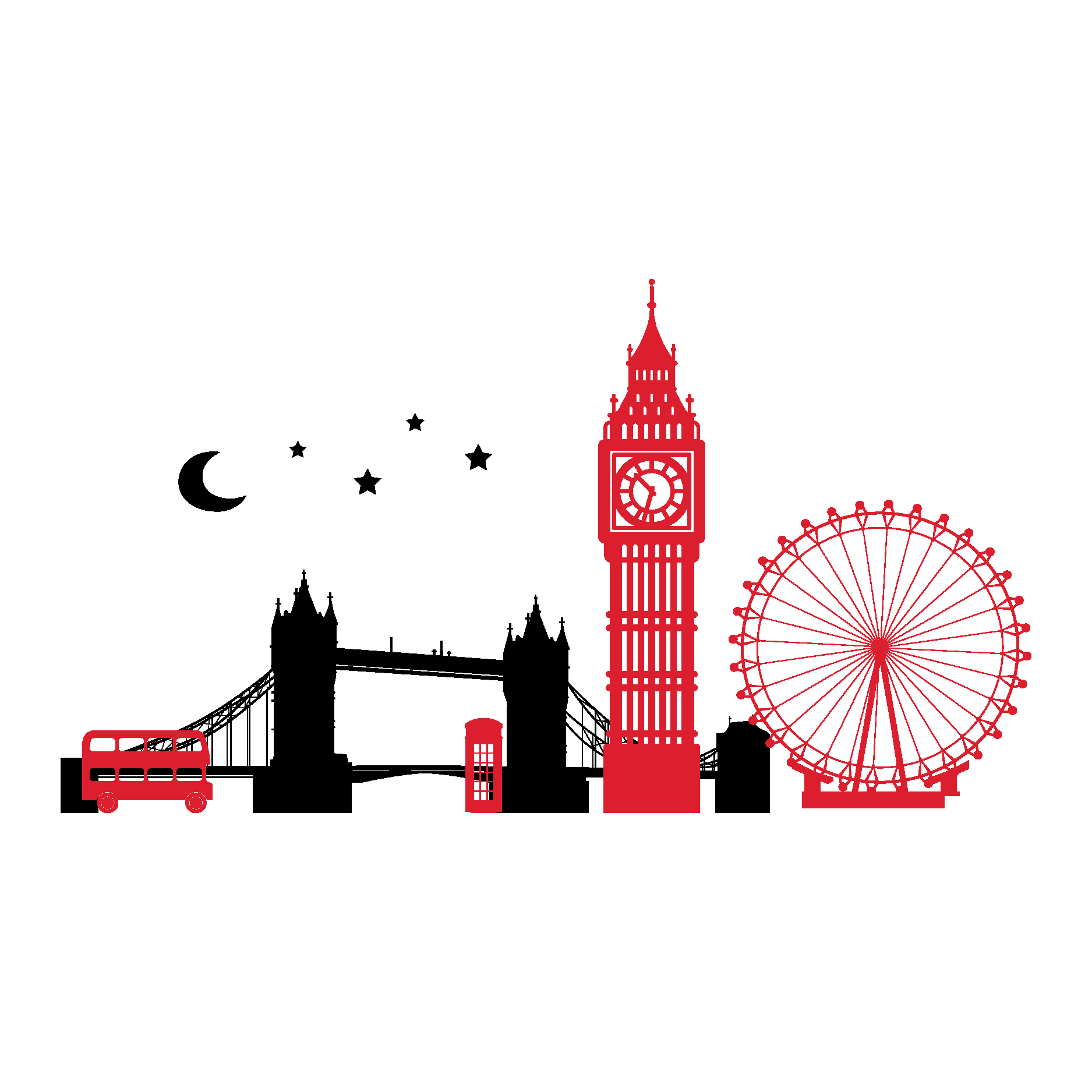 Tower of london clipart with translucent background picture transparent Big Ben Tower of London Tower Bridge Skyline Clip art ... picture transparent