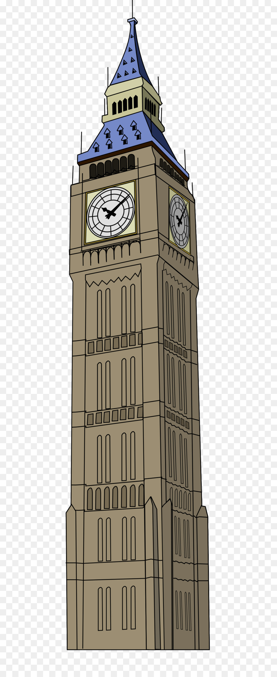 Tower of london clipart with translucent background svg library download London Cartoon png download - 1233*3000 - Free Transparent ... svg library download