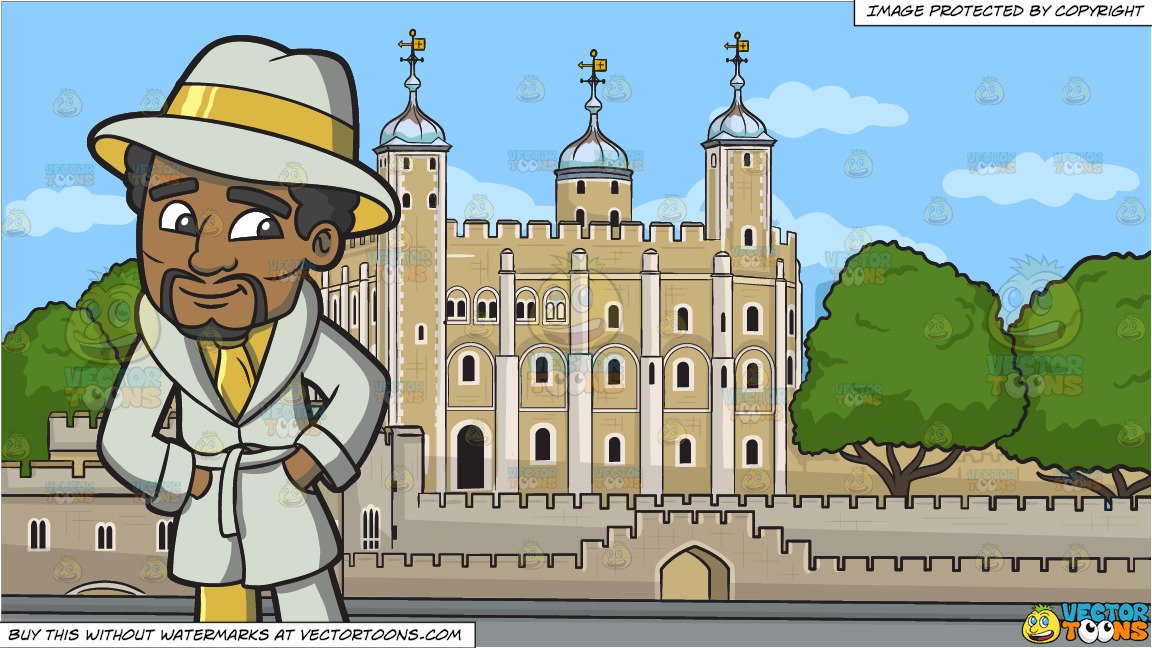 Tower of pimps clipart picture black and white download A Gold Loving Pimp and The Tower Of London Background picture black and white download