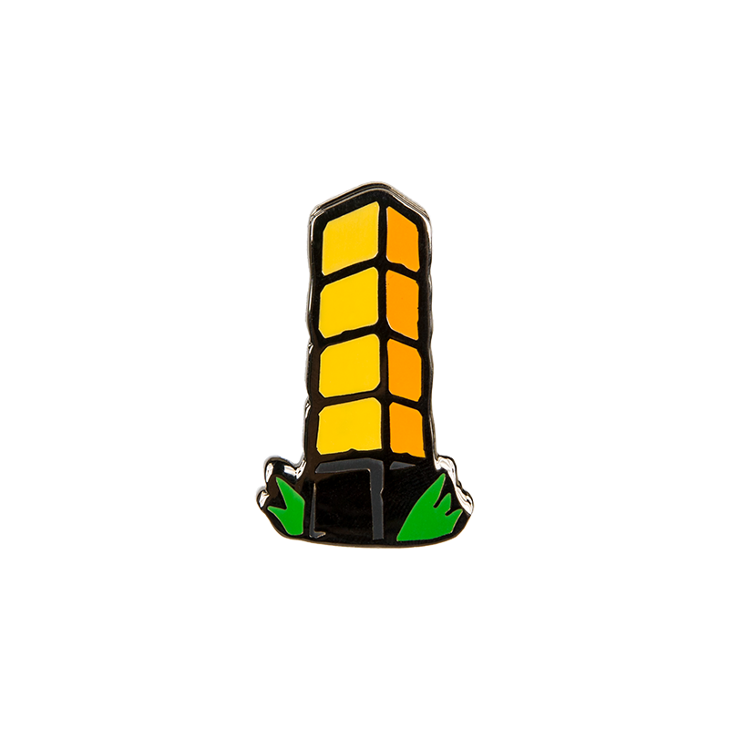 Tower of pimps clipart picture free download Achievement Hunter Tower of Pimps Enamel Pin picture free download