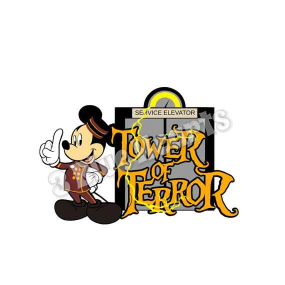 Tower of terror clipart picture freeuse stock Tower of Terror SVG dxf pdf Studio, Hollywood Studios ... picture freeuse stock