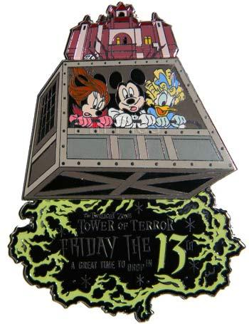 Tower of terror clipart picture freeuse stock Walt Disney Pins, Trading Disney Pins, Value Of Disney Pins ... picture freeuse stock