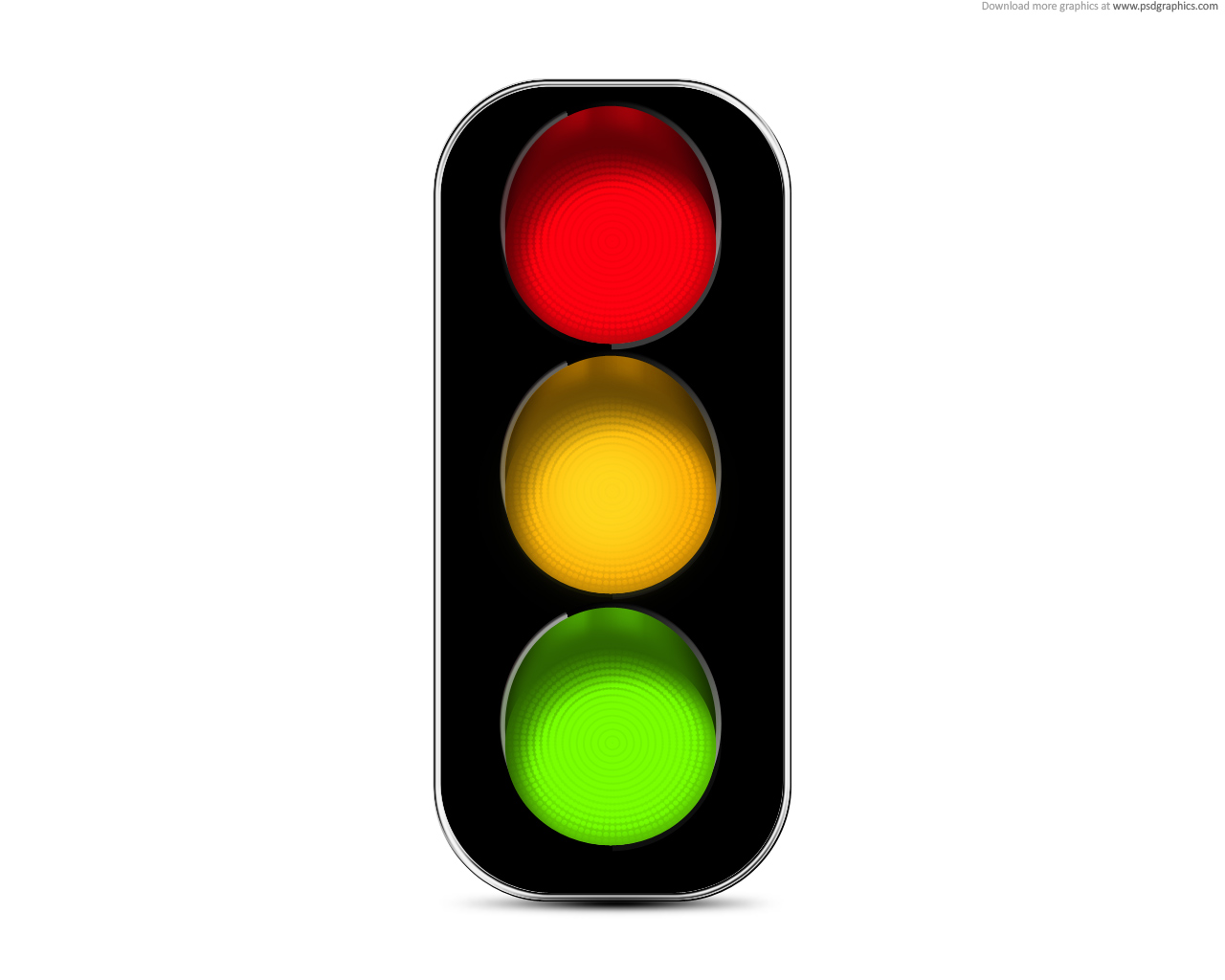 Traffic light icon clipart