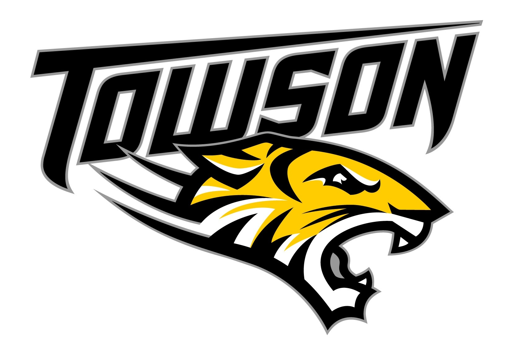 Towson tigers clipart banner freeuse Towson Tigers sign 13 to National Letters of Intent banner freeuse
