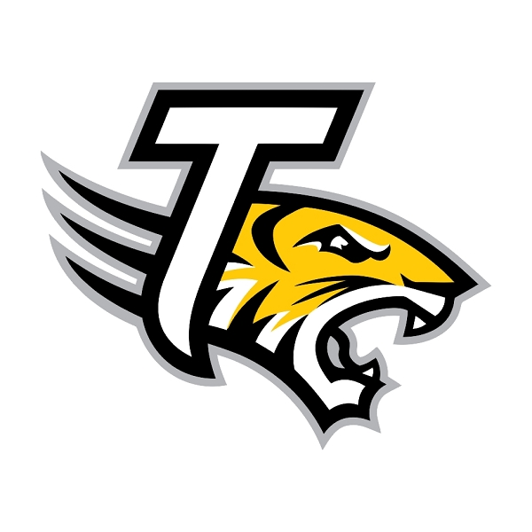 Towson tigers clipart graphic freeuse download Towson Tigers (D) Die-Cut Decal ** 4 Sizes ** graphic freeuse download