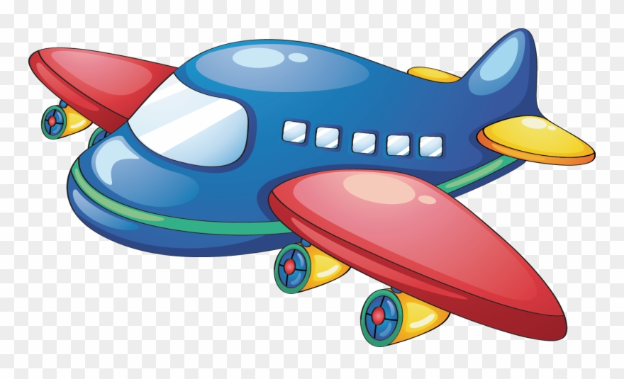 Toy airplane clipart jpg black and white Airplane Clip Toy - Toy Plane Clipart - Png Download ... jpg black and white