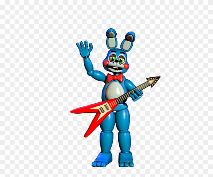 Toy bonnie clipart jpg freeuse stock Toy Bonnie Full Body Thank You Image Clipart (#2859091 ... jpg freeuse stock