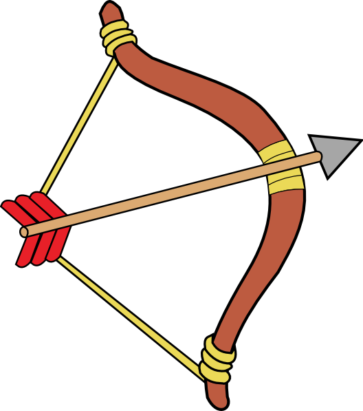 Toy bow and arrow clipart image free stock Bow And Arrow Clip Art at Clipart library - vector clip art ... image free stock
