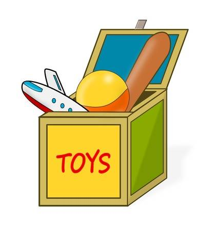 Toy in a box clipart png Toy box clipart 1 » Clipart Station png