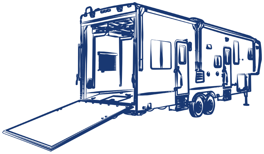 Toy hauler clipart vector free Fifth Wheels, Toy Haulers & Travel Trailers | Heartland RVs vector free