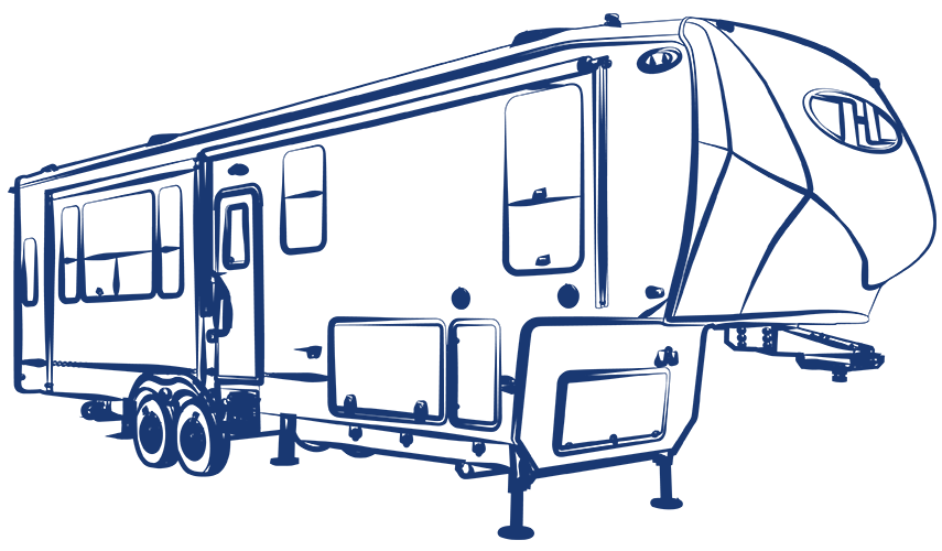 Toy hauler clipart vector library stock Fifth Wheels, Toy Haulers & Travel Trailers | Heartland RVs vector library stock