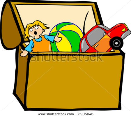 Toy in a box clipart png black and white Toy box clipart 2 » Clipart Station png black and white