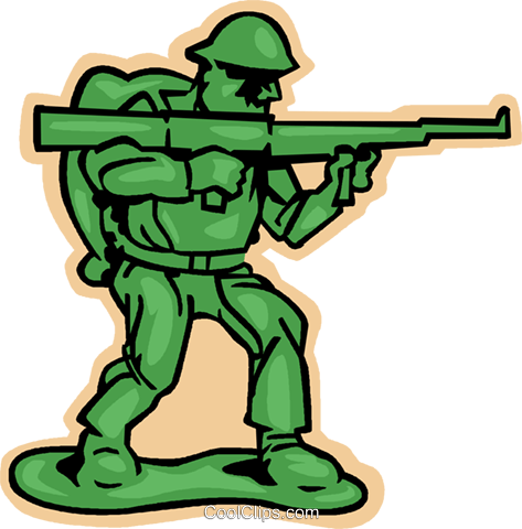 Toy soldier clipart free black and white toy soldier, army soldier Royalty Free Vector Clip Art ... black and white