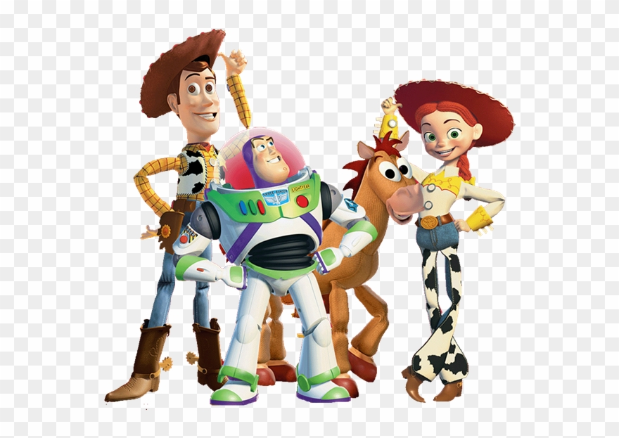 Toy story personagens clipart vector free stock Toy Story Characters No Background Clipart (#310201 ... vector free stock