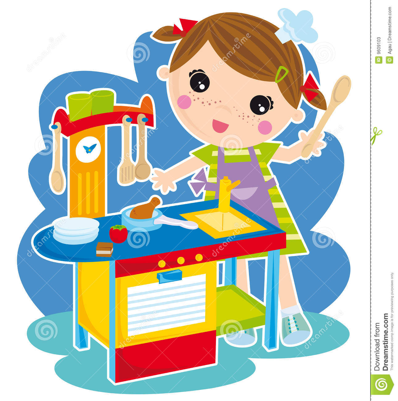 Toy stove clipart clip free Toy Kitchen Clipart - Free Clipart clip free