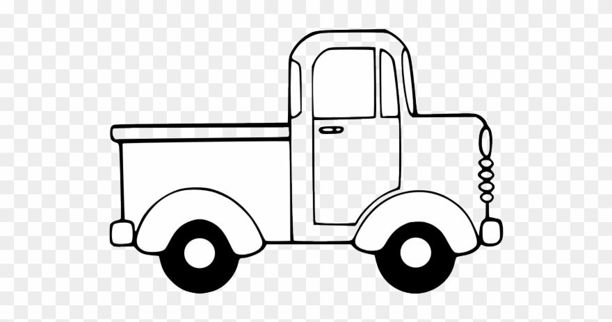 Toy truck clipart black and white library Car Clipart Clipart Toy Car - Toy Truck Clipart - Png ... library