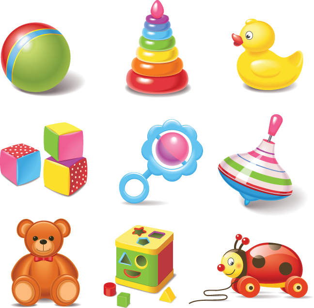 Toy vector clipart clip library library 642 baby toys | Clip Art from OldCuts.co in 2019 | Kids toys ... clip library library