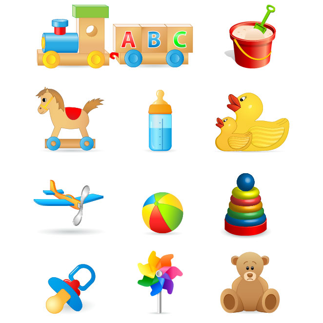 Toy vector clipart png free library Free Children Vector, Download Free Clip Art, Free Clip Art ... png free library