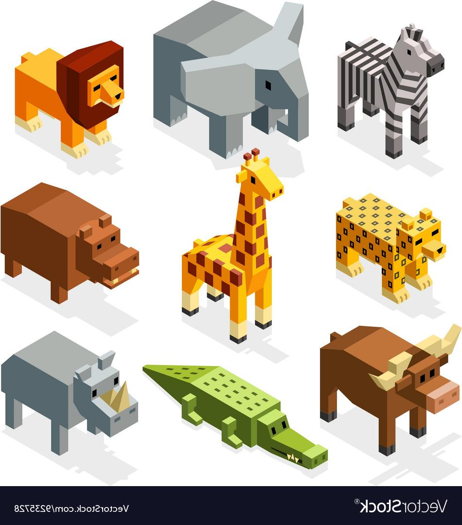 Toy zoo clipart clip royalty free stock Best Safari Animal Toy Sets Vector Pictures » Free Vector ... clip royalty free stock