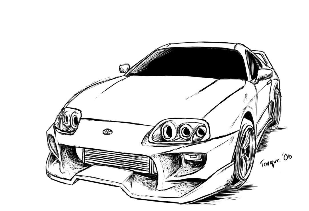 Toyota supra clipart jpg royalty free stock Supra drawing free download on ayoqq cliparts jpg royalty free stock